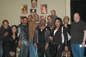 Pittsburgh native and actor Bill Nunn with Pittsburgh Playwrights veterans and founder Mark Clayton Southers