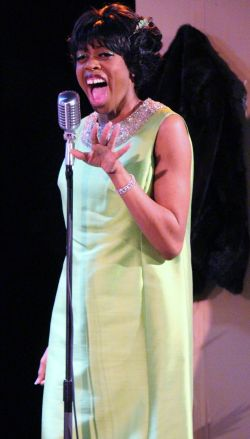 Delana Flowers as Dinah Washington