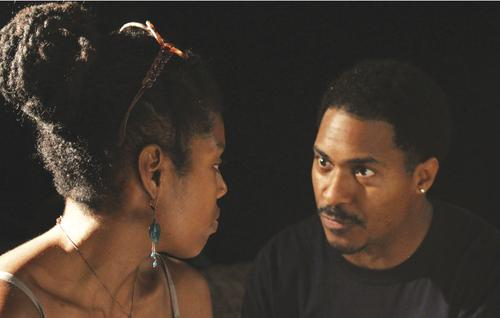 Tyla Abercrumbie and Ben Cain in King Hedley II. Photo courtesy of Aaron McClendon