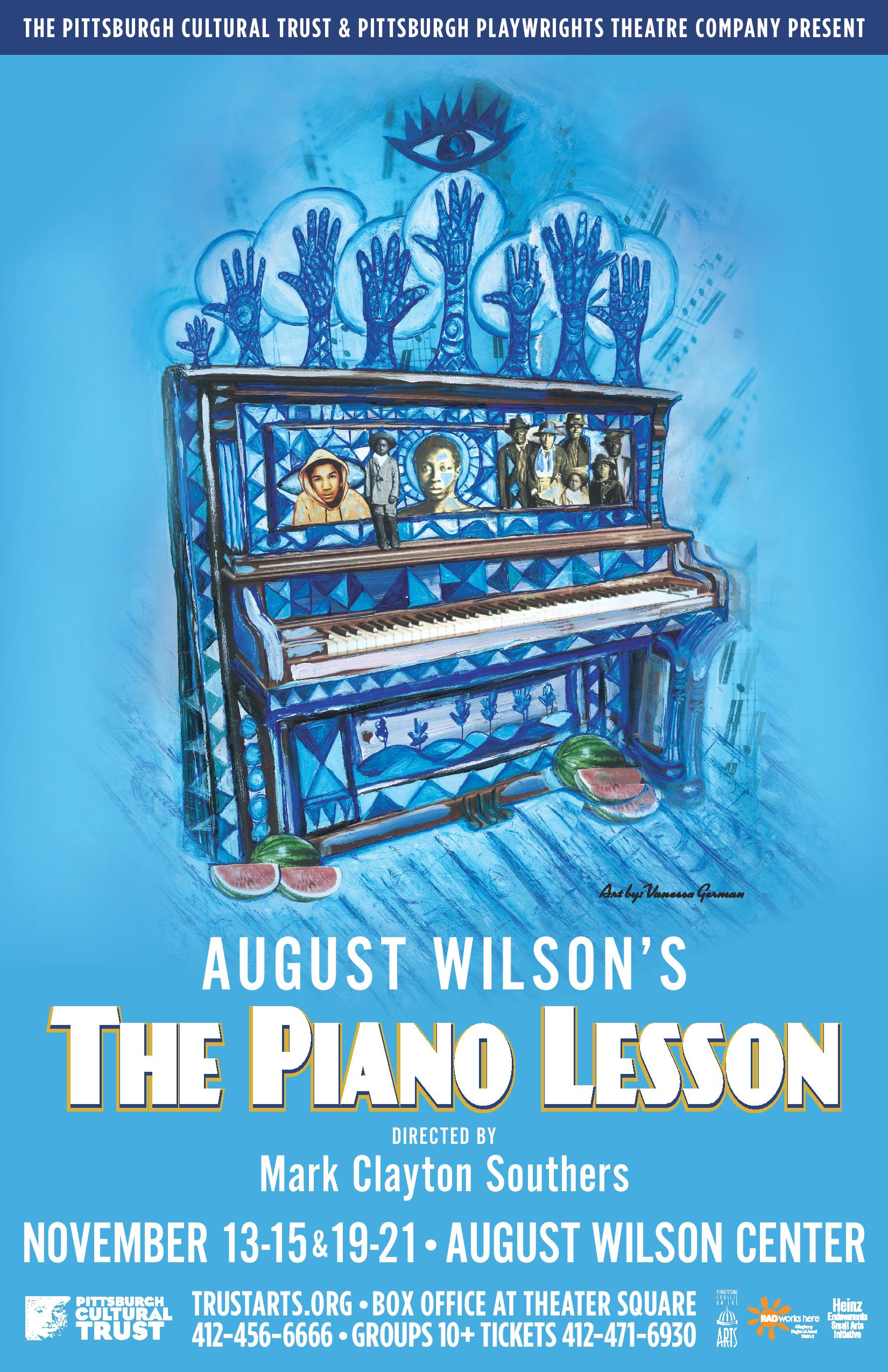 american commerce and materialism in the piano lesson a play by august wilson August wilson's seminal cycle l scott caldwell won a tony award for best featured actress in a play 5 the piano lesson american masters — august wilson.