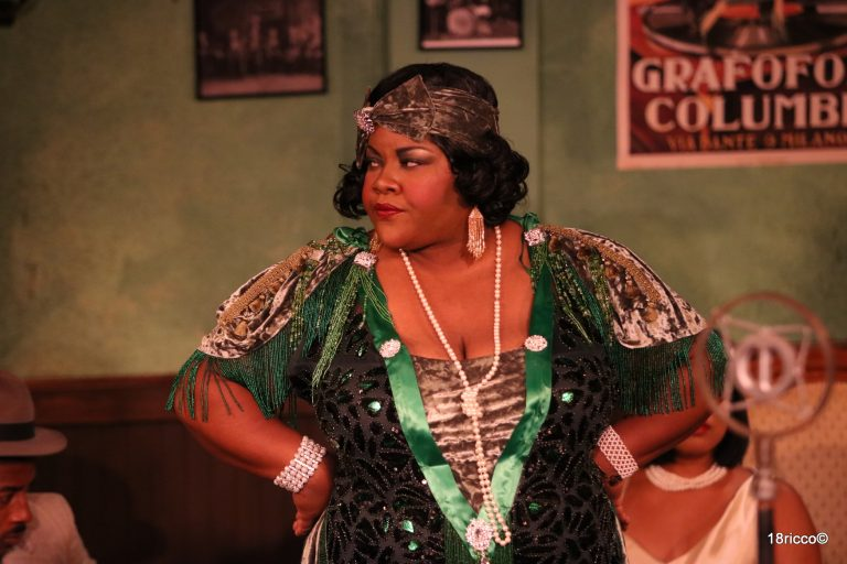Vanessa German as Ma Rainey. Photo by Ricco Martello.