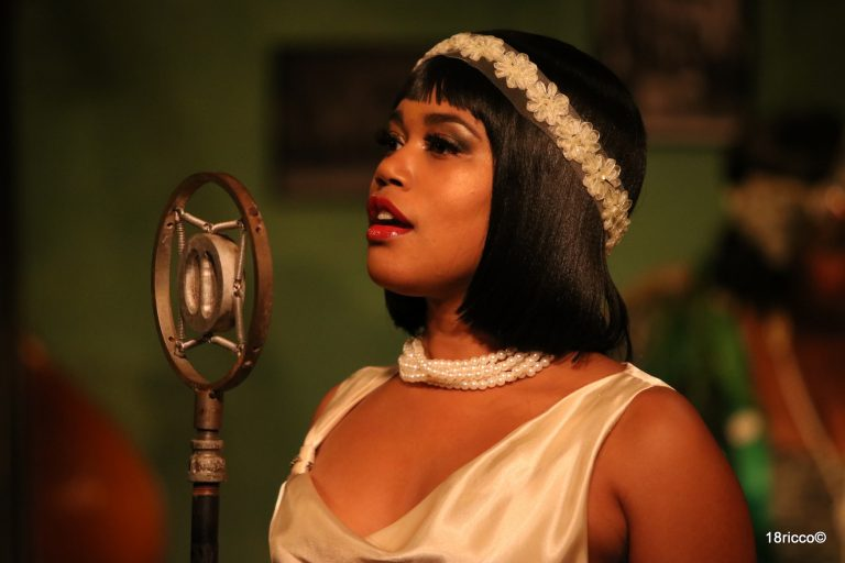 Shakirah Stephens as Dussie Mae. Photo by Ricco Martello.