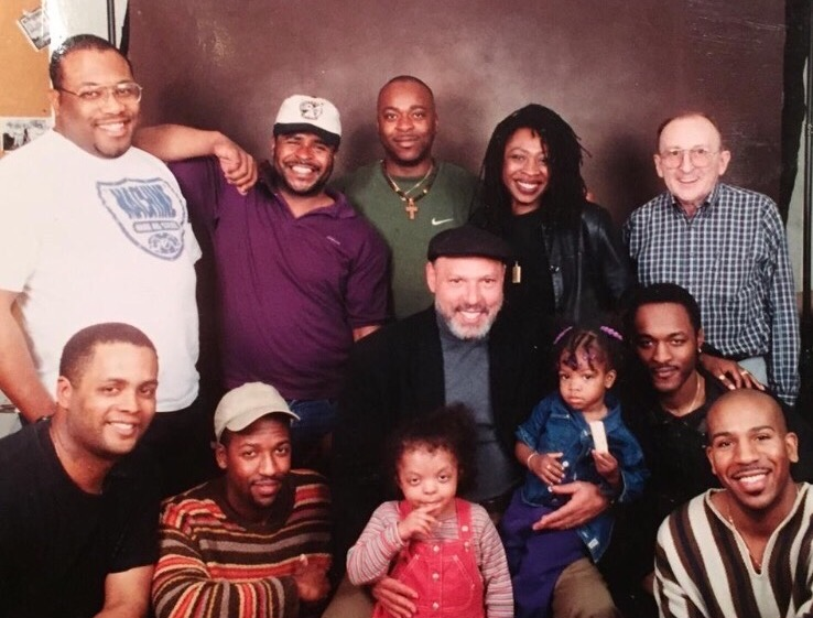 August Wilson with Wilsonian actors